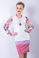 Wisell Легкое женственное платье с круглым вырезом. 44 и 46 р.