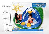 Надувной бассейн-игровой центр ПИНГВИН с навеcoм, 102х83 см от 1-3 лет, фото 2