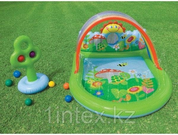 Водный игровой центр-бассейн Лужайка intex
