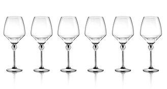 Сет Магическая гармония  6 бокалов для красного вина с металлическими ножками
