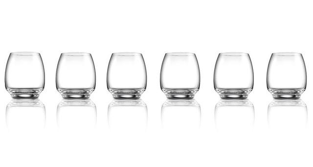Сет Магическая гармония 6 бокалов для виски или воды без ножек