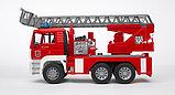 Пожарная машина MAN с лестницей и помпой Bruder (Брудер) (Арт. 02-771, 02771), фото 2