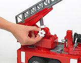 Пожарная машина MAN с лестницей и помпой Bruder (Брудер) (Арт. 02-771, 02771), фото 3
