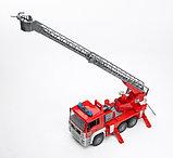 Пожарная машина MAN с лестницей и помпой Bruder (Брудер) (Арт. 02-771, 02771), фото 5