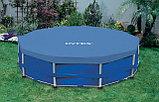 Тент-чехол для каркасного бассейна диаметром: 366 см, фото 3