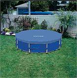 Тент-чехол для каркасного бассейна диаметром: 305 см, фото 3
