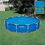 Обогревающее покрывало Intex Solar Pool Cover для бассейнов (457см) , фото 3