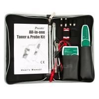 MT-7068 Тон-пробник, тон-генератор, 8 канальный тестер