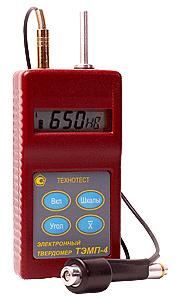 ТЭМП-4 — динамический твердомер (в металлическом корпусе)