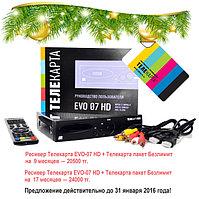 """Новогоднее предложение пакета """"Телекарта"""""""