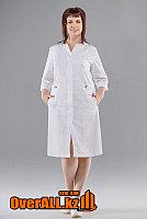 Женский медицинский белый халат, фото 1
