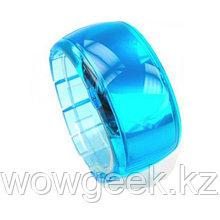 Стильные светодиодные часы - Dot-Matrix Blue