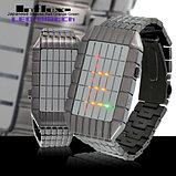 Уникальные японские светодиодные часы LINES(Geomesh), фото 5