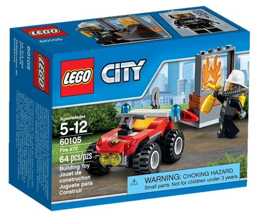60105 Lego City Пожарный квадроцикл, Лего Город Сити