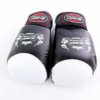 Перчатки SAIR черно-белые