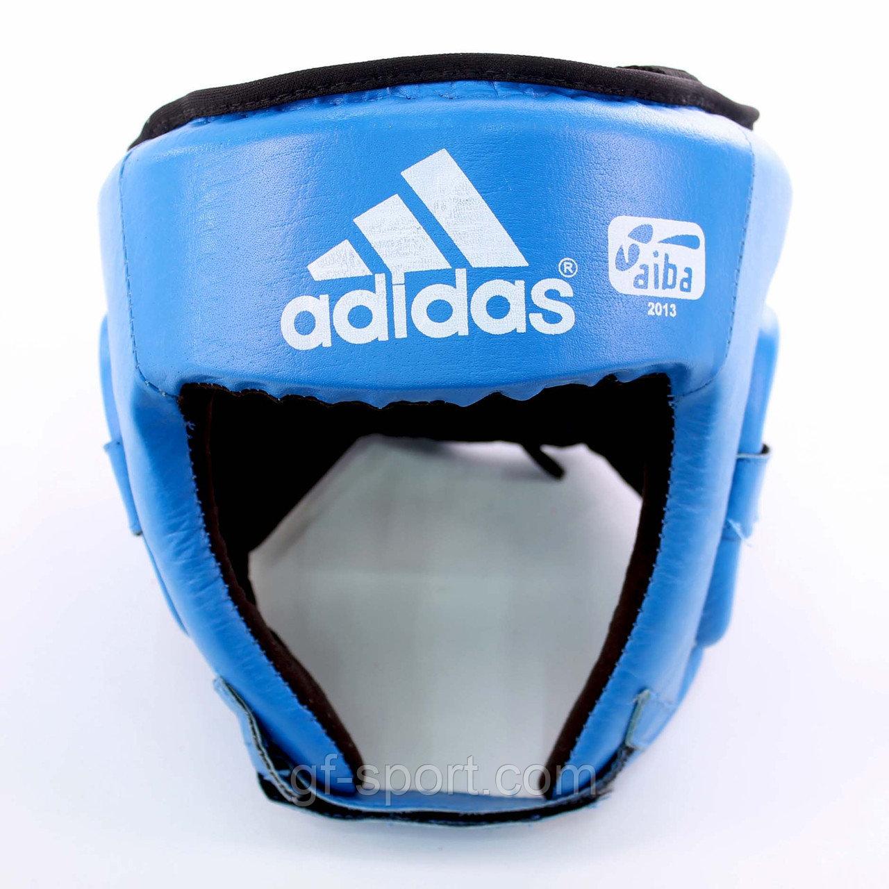 Шлем боксерский Adidas, кожа