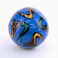 Мяч футбольный детский лакированный
