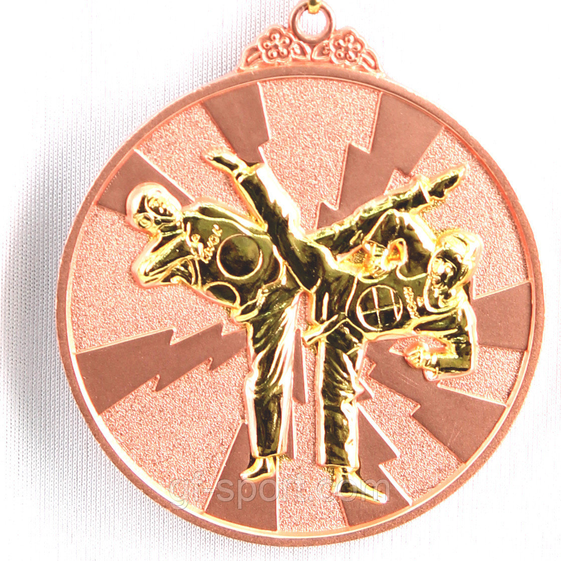 Медаль рельефная ТАЭКВОНДО (бронза)
