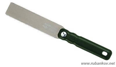 Пила гибкая для пробок, Kugihiki Mini Z-saw, 150мм, двусторонняя, пластиковая рукоять