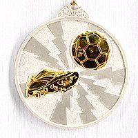 Медаль ФУТБОЛ (серебро)