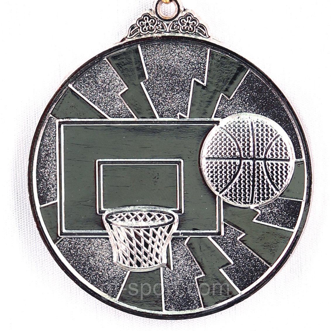 Медаль БАСКЕТБОЛ (серебро)