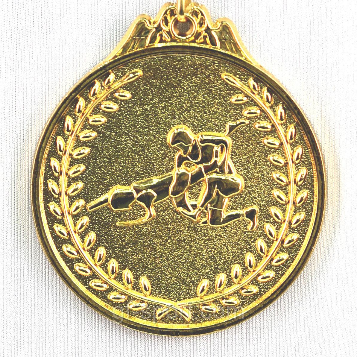 Медаль БОРЬБА (золото)
