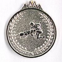 Медаль БОРЬБА (серебро)