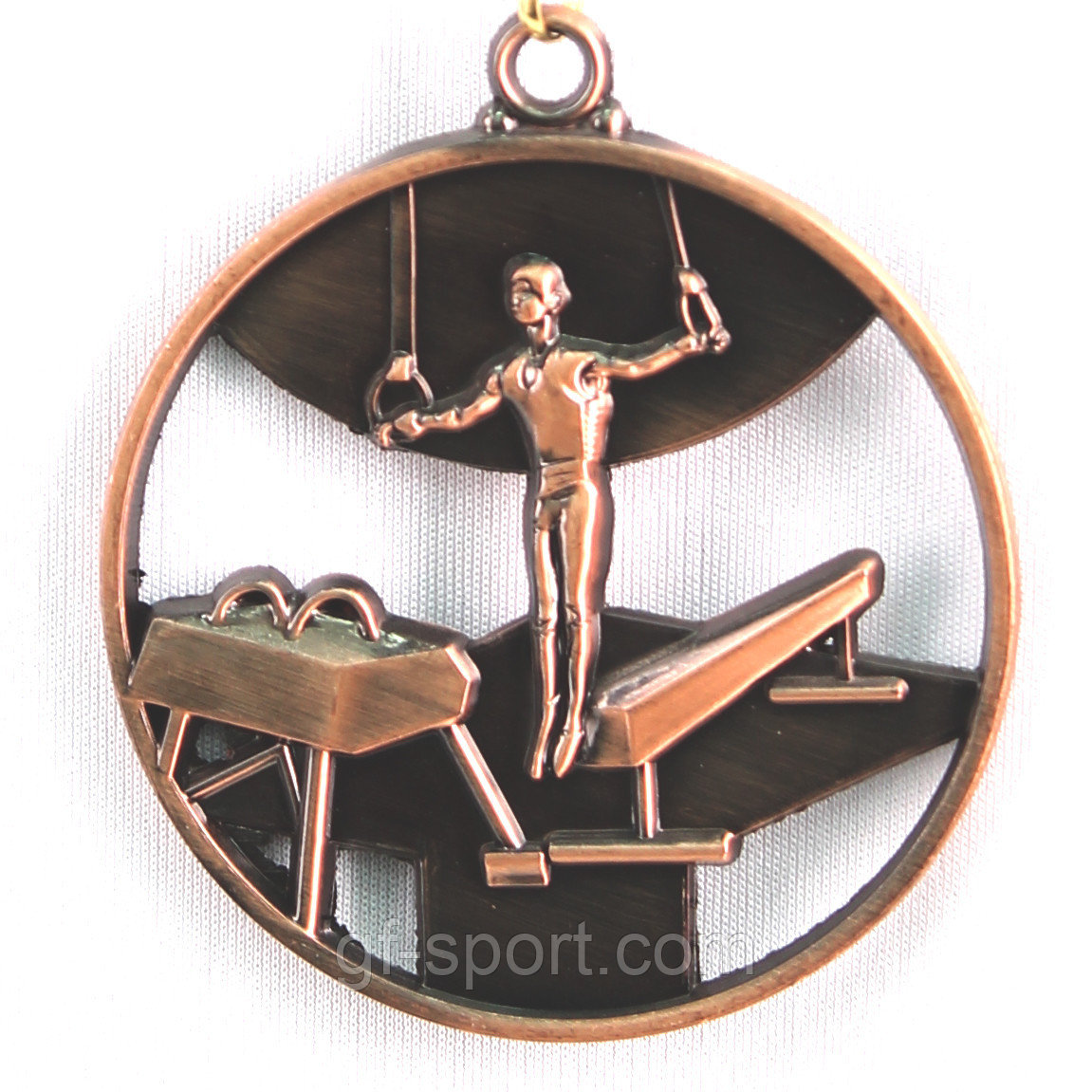 Медаль СПОРТИВНАЯ ГИМНАСТИКА (3место)