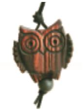 Совушка - талисман мудрости 5см
