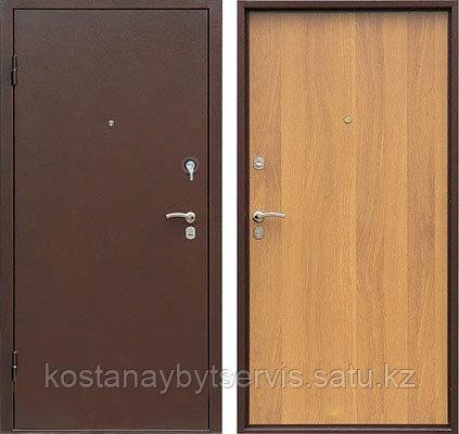 Дверь стальная утепленная с полимерным покрытием