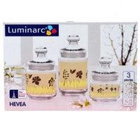 Luminarc Набор банок Hevea 3 пр.(1.0; 0.75; 0.5), фото 1
