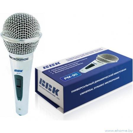 Микрофон BBK PM-90   ,динамический