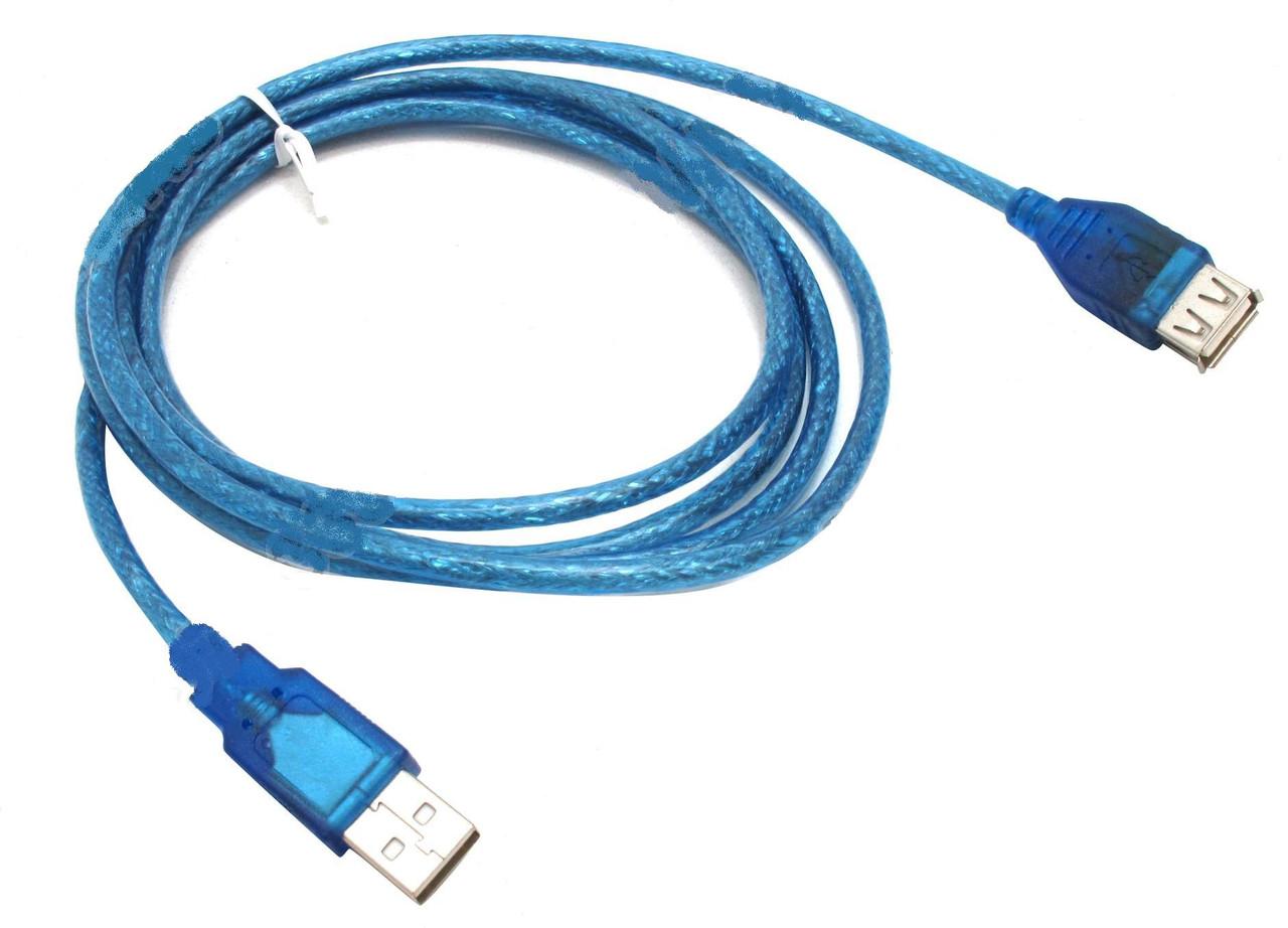 Кабель, провод, шнур USB 2.0 (male-female) удлинительный, 1.5 м
