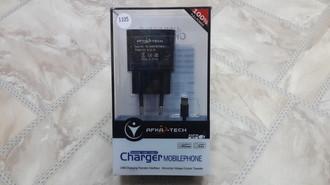 Зарядное устройство  iPhone 5G дом   AFKA-TECH 5v 2,1A  2USB  1105