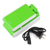 Светильник зеленый КМ-6631,складной,аккумуляторный, фото 1