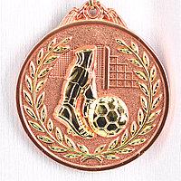 Медаль рельефная ФУТБОЛ (бронза)
