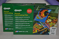 Плёнка пакетная для ламинирования GMP (Корея) форматы А3, 4, 5.