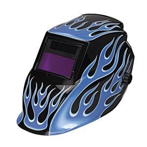 Маска сварочная с автозатемнением Telwin Blue Flame 802615