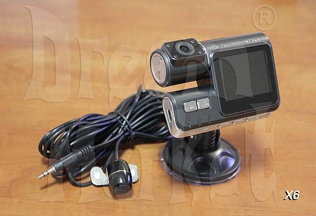 Автомобильный видеорегистратор X6