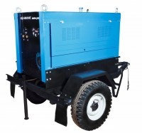 Передвижной сварочный агрегат АДД-4004.6П+ВГ(водяное охлаждение), фото 1