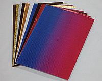 Гофрированная бумага (10 листов)