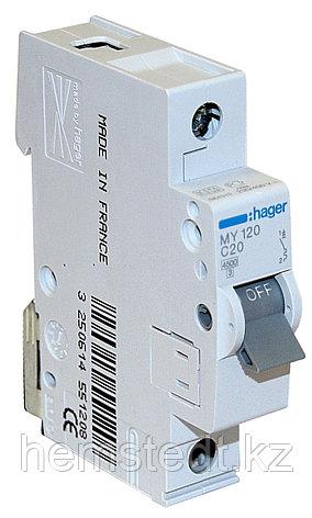 Автоматические выключатели Hager  4,5 И 6 КА, фото 2
