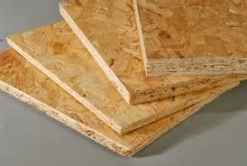 OSB плиты толщина 9 мм, размер 2500*1250