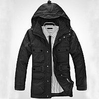Непродуваемая и непромокаемая пуховая куртка, фото 1