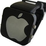 """Зеркальные светодиодные часы """"Apple"""", фото 2"""