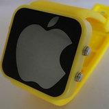 """Зеркальные светодиодные часы """"Apple"""", фото 3"""