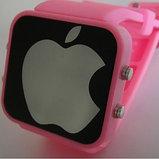 """Зеркальные светодиодные часы """"Apple"""", фото 5"""