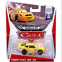 "Cars / Тачки ""Piston Cup"" Файбер Фьэл №56"
