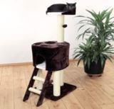 """Trixie 44460 Когтеточка домик для кошки """"Роланда"""", 45*50см, высота 130см, черно-белый, фото 1"""
