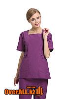 Женский фиолетовый медкостюм, фото 1